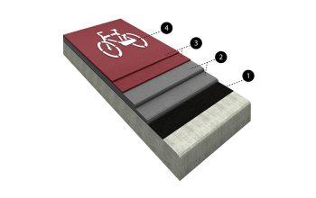 Akrilni športni pod Diasen Cycle - Skate System