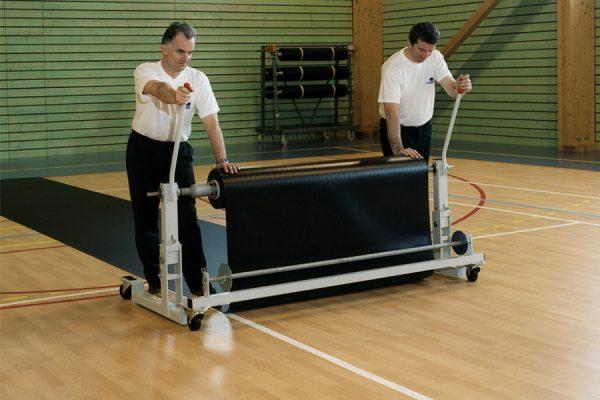 Zaščita za športni pod Taraflex Bateco - odvijanje